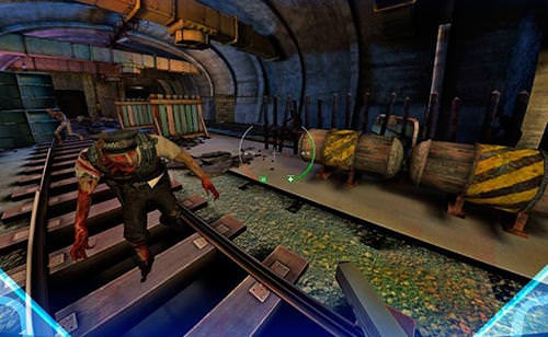 Zombie Shooter VR Android Game Image 1