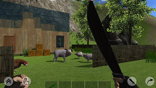Download free rustland survival and craft android mobile for Survival crafting games pc