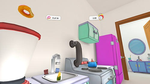 VRaccoon: Cardboard VR Game Android Game Image 1