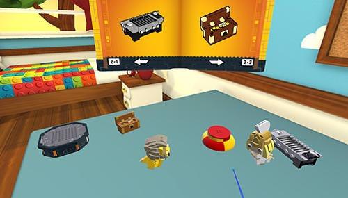 LEGO Brickheadz Builder VR Android Game Image 1