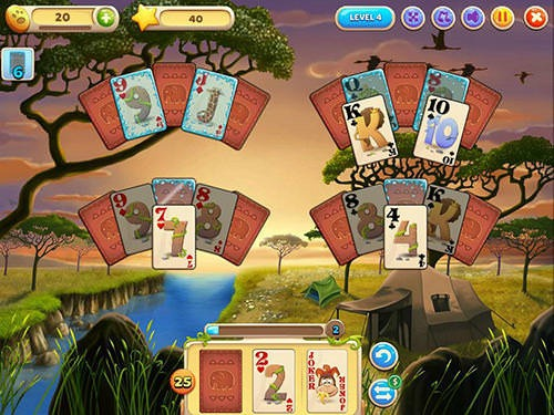 Solitaire Safari Android Game Image 1