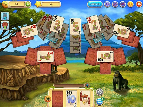 Solitaire Safari Android Game Image 2