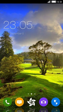 Scenery CLauncher Android Theme Image 1