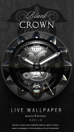 Designer Clock Android Wallpaper Image 2