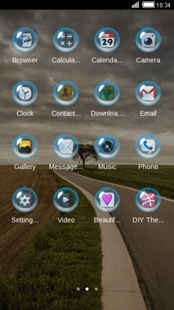 Highway CLauncher Android Theme Image 2