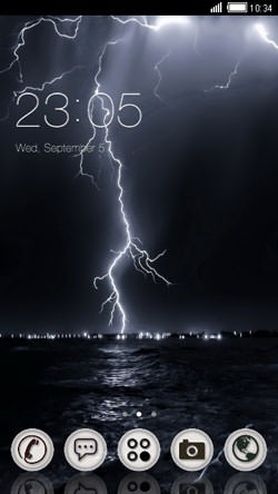 Lightning CLauncher Android Theme Image 1