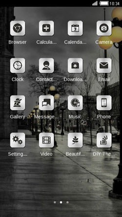 Rainy Day CLauncher Android Theme Image 2
