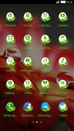 Dew CLauncher Android Theme Image 2