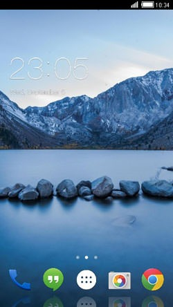 Stones CLauncher Android Theme Image 1