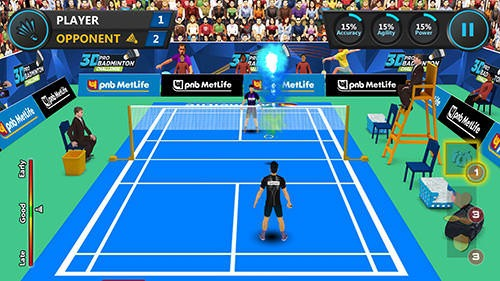 3D Pro Badminton Challenge Android Game Image 2