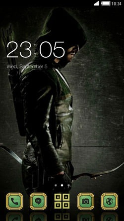 Arrow CLauncher Android Mobile Phone Theme Image 1