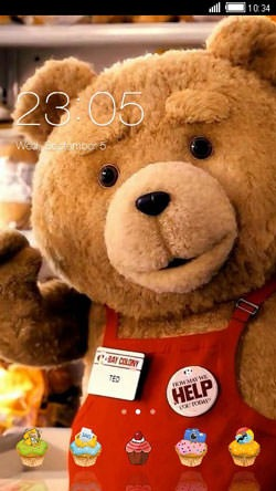 Ted CLauncher Android Mobile Phone Theme Image 1