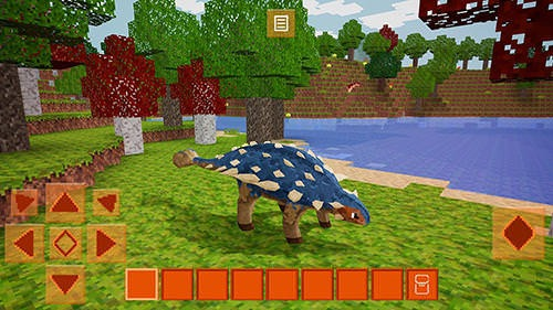 Dinocraft: Survive And Craft Android Game Image 1