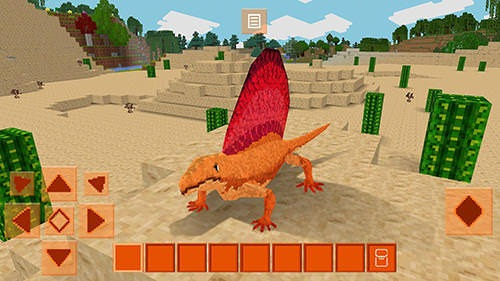 Dinocraft: Survive And Craft Android Game Image 2