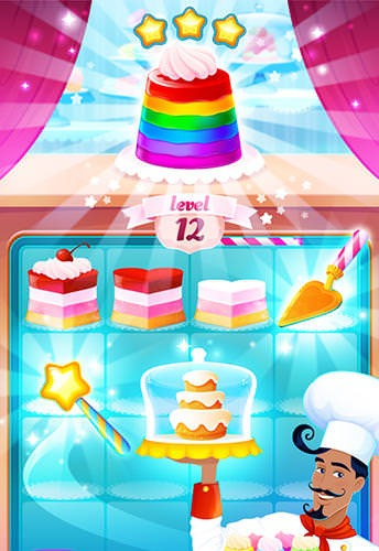 Fancy Cakes Android Mobile Phone Game Image 1