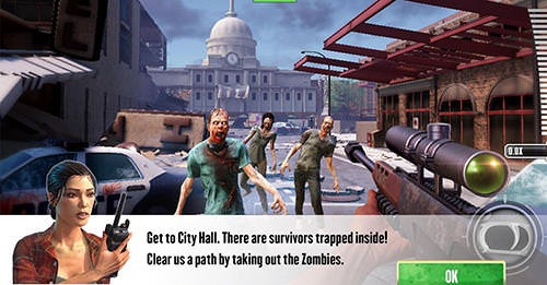 Kill Shot Virus Android Mobile Phone Game Image 1
