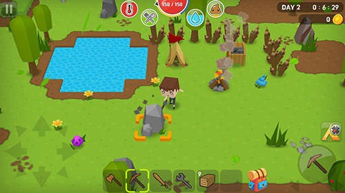 Mine Survival Android Mobile Phone Game Image 2