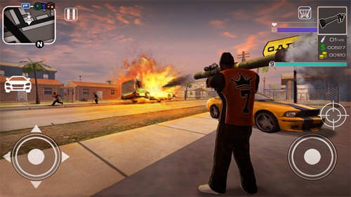 San Andreas Straight 2 Compton Android Mobile Phone Game Image 1
