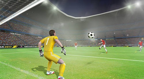 Soccer Star 2017: Top Leagues Android Mobile Phone Game Image 1