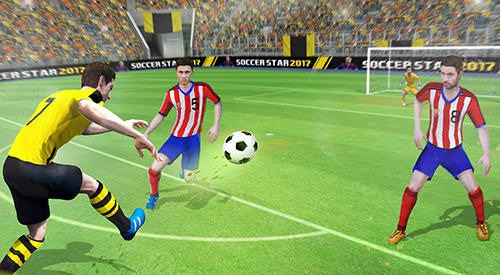 Soccer Star 2017: Top Leagues Android Mobile Phone Game Image 2