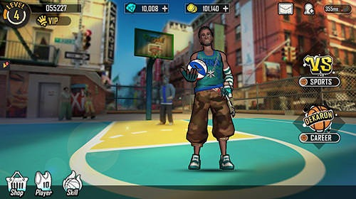 Street Wars: Basketball Android Mobile Phone Game Image 1