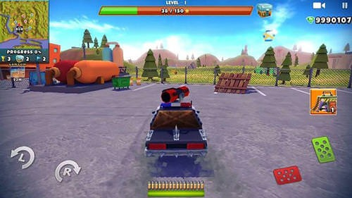 Zombie Offroad Safari Android Mobile Phone Game Image 1