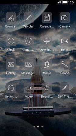 Guitar CLauncher Android Theme Image 2