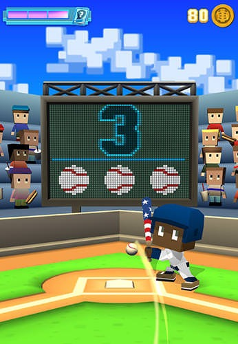 Blocky Baseball Android Game Image 2