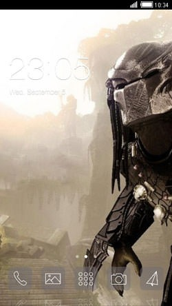 Predator CLauncher Android Mobile Phone Theme Image 1