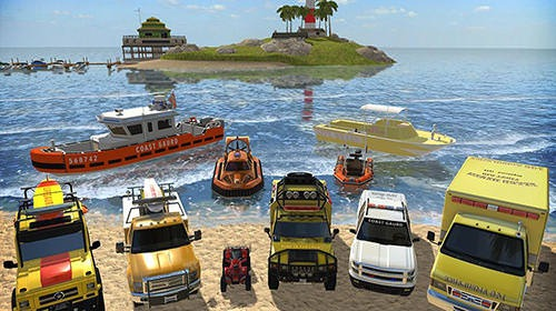 Coast Guard: Beach Rescue Team Android Mobile Phone Game Image 1
