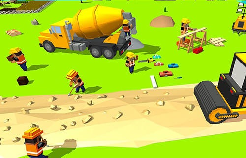 Construct Railroad Euro Train Android Mobile Phone Game Image 1