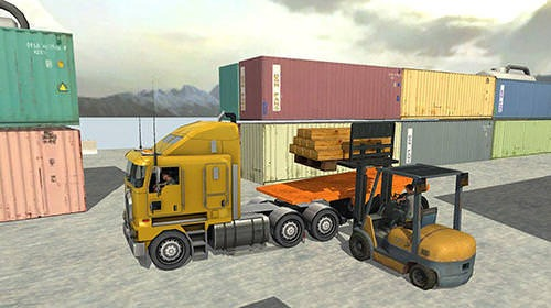 USA Truck Driver: 18 Wheeler Android Mobile Phone Game Image 1