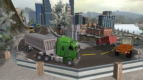 USA Truck Driver: 18 Wheeler Android Mobile Phone Game Image 2