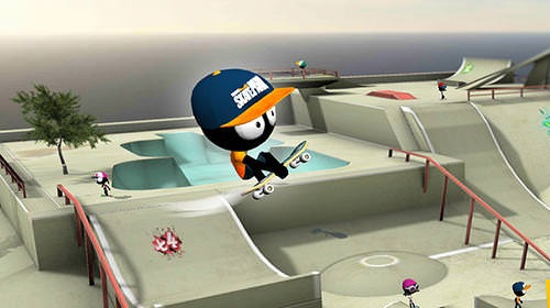 Download free stickman skate battle android mobile phone - Skateboard mobel ...
