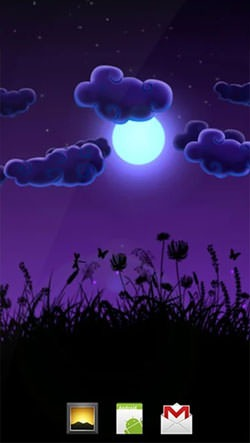 Night Nature Android Wallpaper Image 1