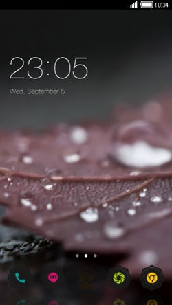 Dew CLauncher Android Theme Image 1