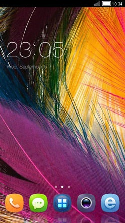 Feather CLauncher Android Theme Image 1
