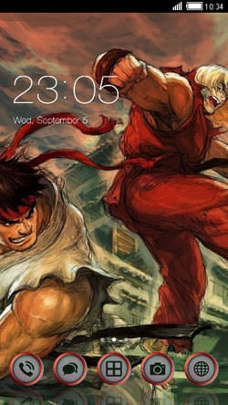 Street Fighter CLauncher Android Theme Image 1