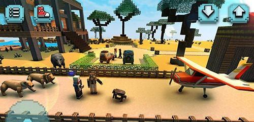 Savanna Safari Craft: Animals Android Game Image 1