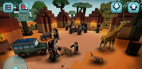 Savanna Safari Craft: Animals Android Game Image 2