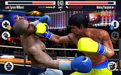 Real Boxing Manny Pacquiao Android Game Image 2