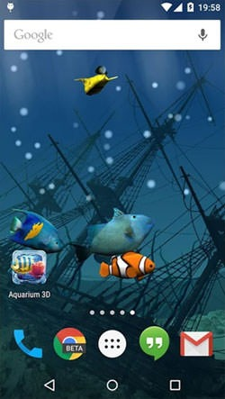 Aquarium Android Mobile Phone Wallpaper Image 1