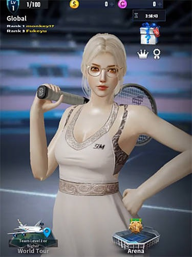 Ultimate Tennis: Revolution Android Game Image 1