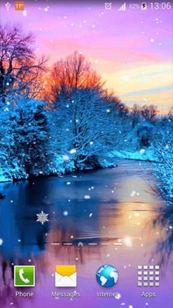 Winter Season Android Wallpaper Image 1