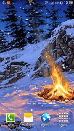 Winter Season Android Wallpaper Image 2