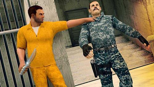 Survival: Prison Escape V2. Night Before Dawn Android Game Image 1