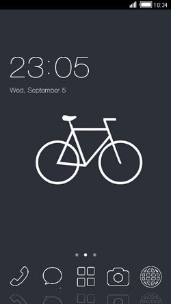 Bike CLauncher Android Theme Image 1
