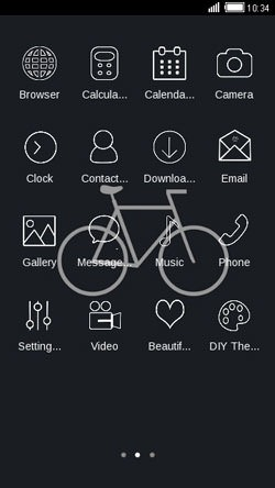 Bike CLauncher Android Theme Image 2