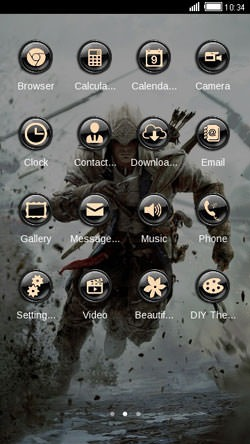 Assassin Creed CLauncher Android Theme Image 2