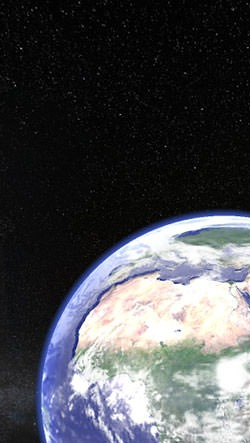Earth Planet 3D Android Wallpaper Image 1
